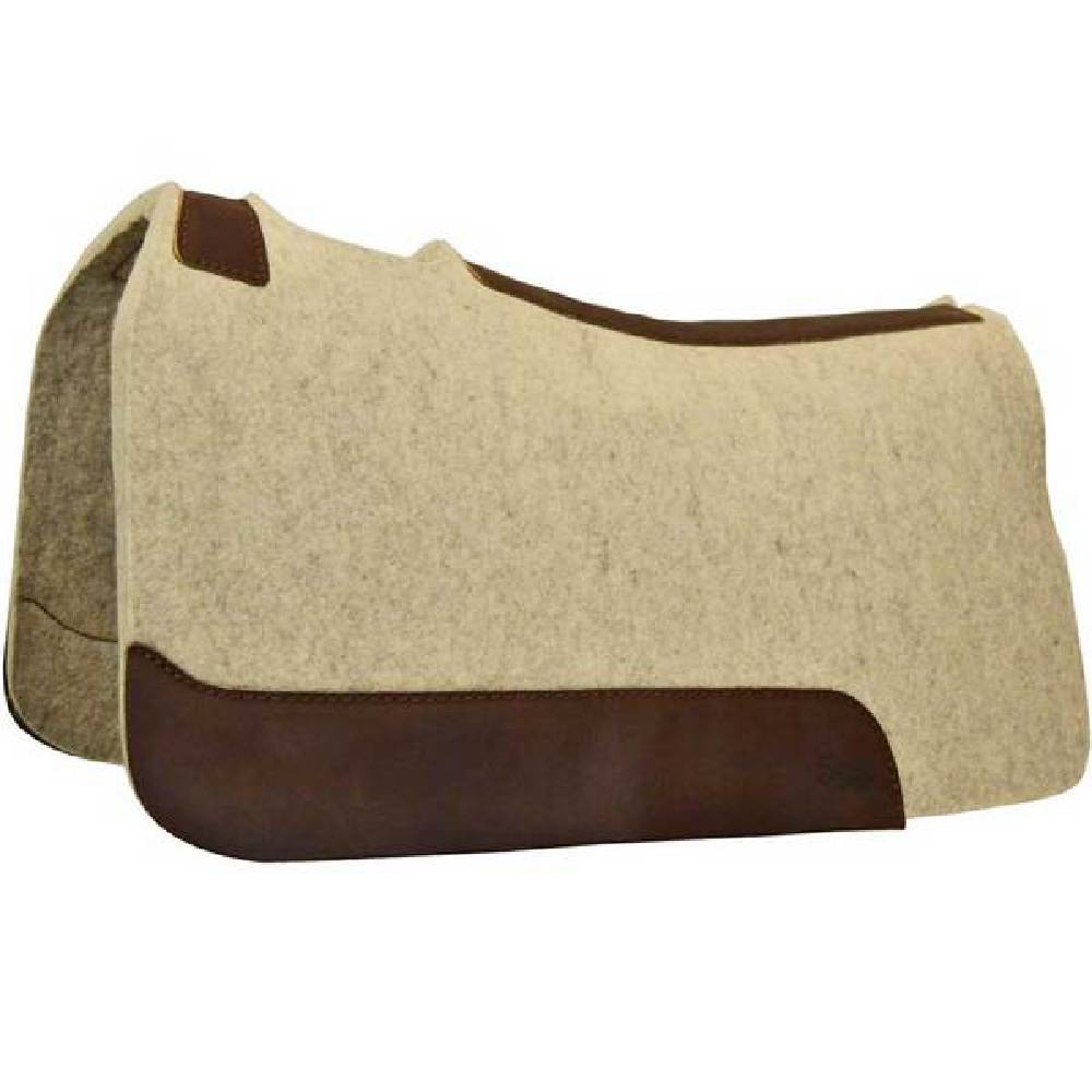 "5 Star 1"" Natural Wool Pad Tack - Saddle Pads 5 Star Teskeys"