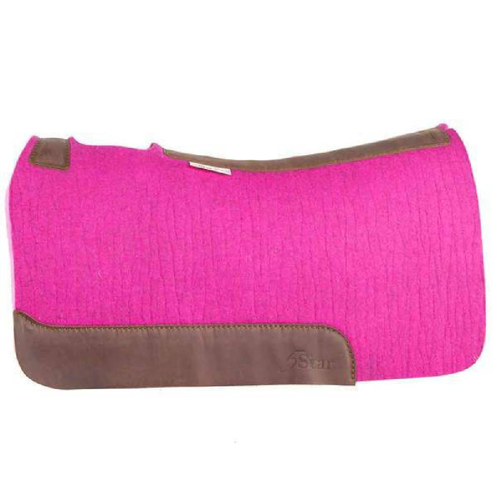 5 Star Pink Barrel Racer Pad Tack - Saddle Pads 5 Star Teskeys