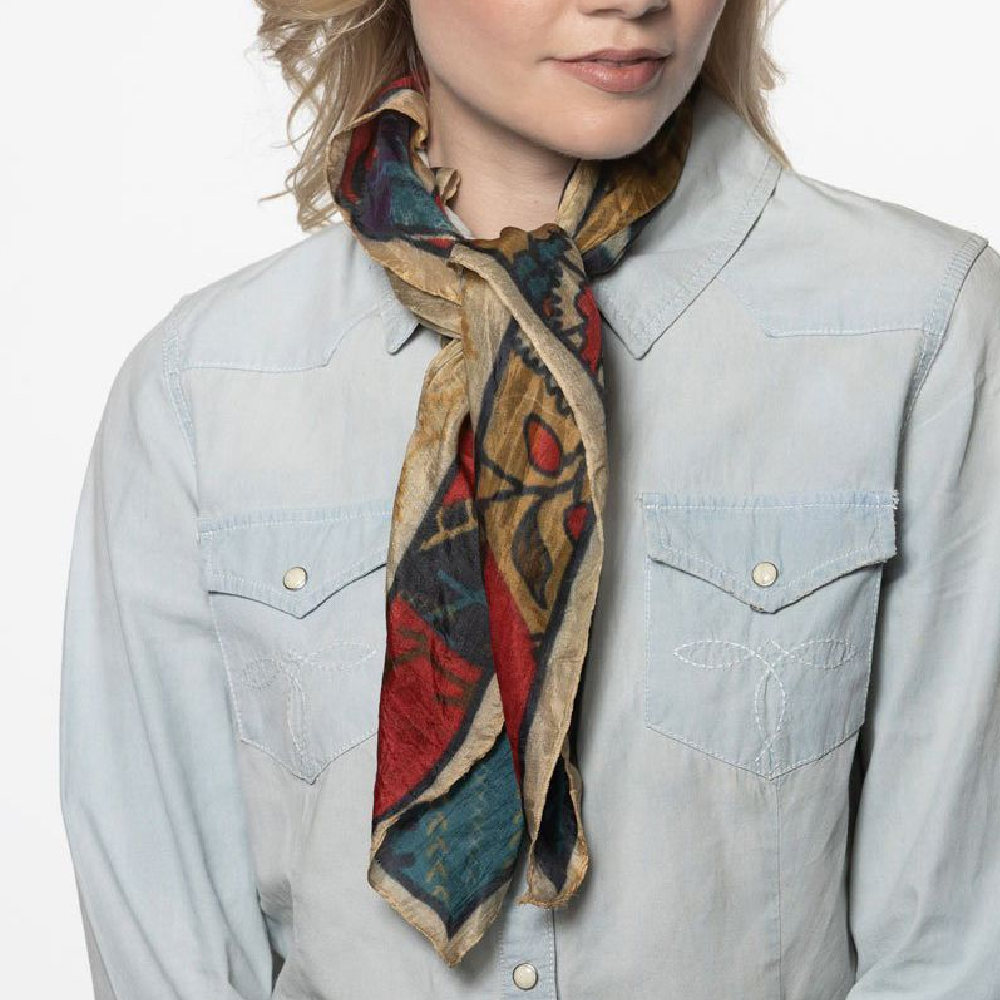 Double D Ranch Chieftain Scarf WOMEN - Accessories - Scarves & Wraps DOUBLE D RANCHWEAR, INC. Teskeys