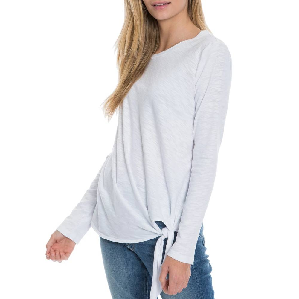 Dylan Tie Front Top WOMEN - Clothing - Tops - Long Sleeved DYLAN Teskeys