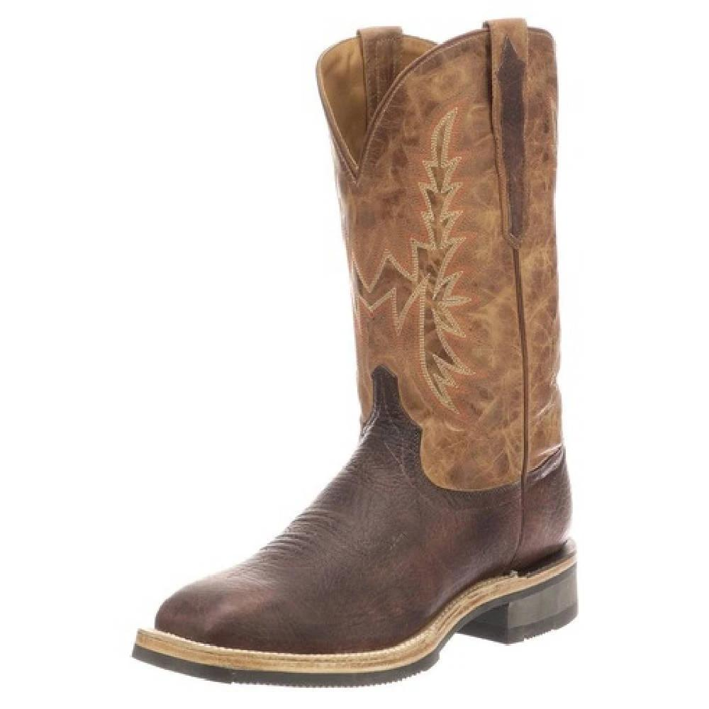 Lucchese Rudy Chocolate Boot MEN - Footwear - Western Boots LUCCHESE BOOT CO. Teskeys