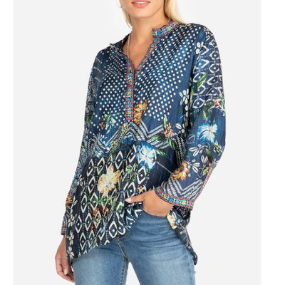 Johnny Was Knack Tunic WOMEN - Clothing - Tops - Tunics JOHNNY WAS COLLECTION Teskeys