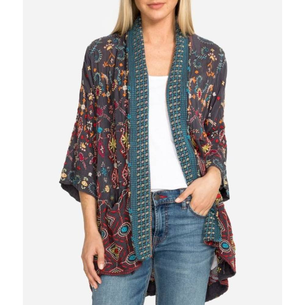 Johnny Was Waverly Kimono WOMEN - Clothing - Sweaters & Cardigans JOHNNY WAS COLLECTION Teskeys