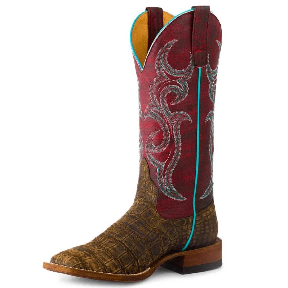 Macie Bean What A Croc WOMEN - Footwear - Boots - Exotic Boots ANDERSON BEAN BOOT CO. Teskeys