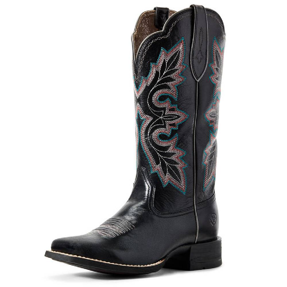 Ariat Breakout Black Western Boot WOMEN - Footwear - Boots - Western Boots Ariat Footwear Teskeys