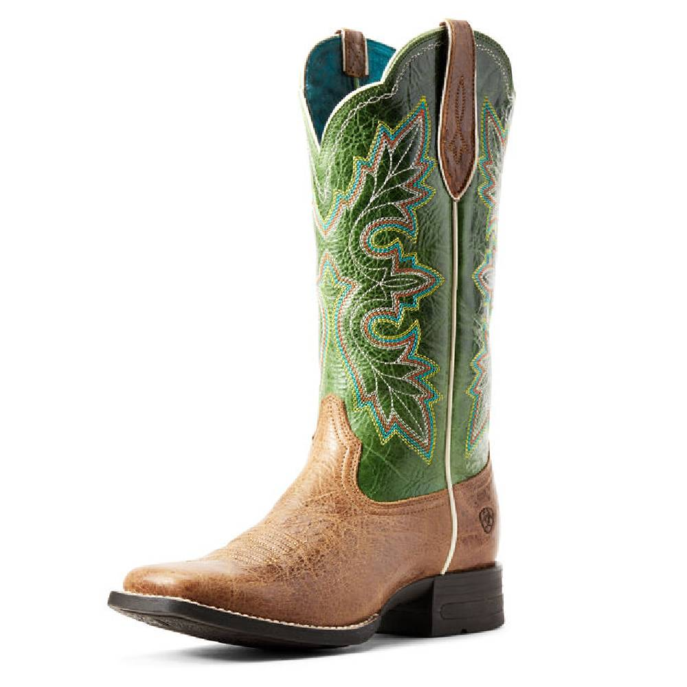 Ariat Breakout Dark Tan Western Boot WOMEN - Footwear - Boots - Western Boots Ariat Footwear Teskeys
