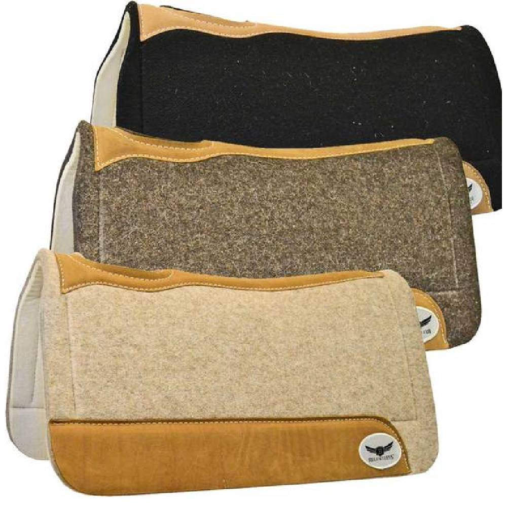 Trevor Brazile Relentless Felt Gel Pad by Cactus Tack - Saddle Pads Cactus Teskeys