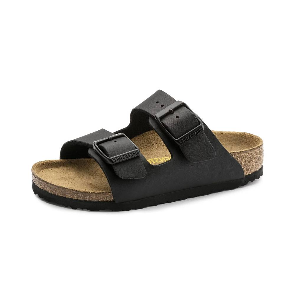 Birkenstock Kids Arizona Sandal-Black KIDS - Girls - Footwear - Flip Flops & Sandals BIRKENSTOCK Teskeys