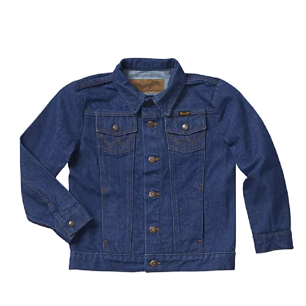 Boys'  Cowboy Cut Unlined Denim Jacket KIDS - Boys - Clothing - Outerwear - Jackets WRANGLER Teskeys