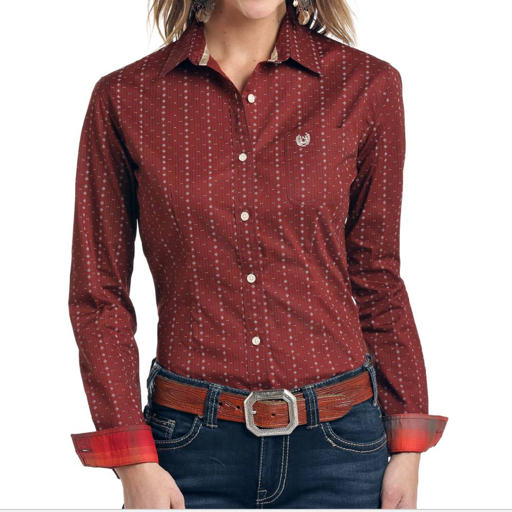 Panhandle Button Up Shirt WOMEN - Clothing - Tops - Long Sleeved Panhandle Teskeys