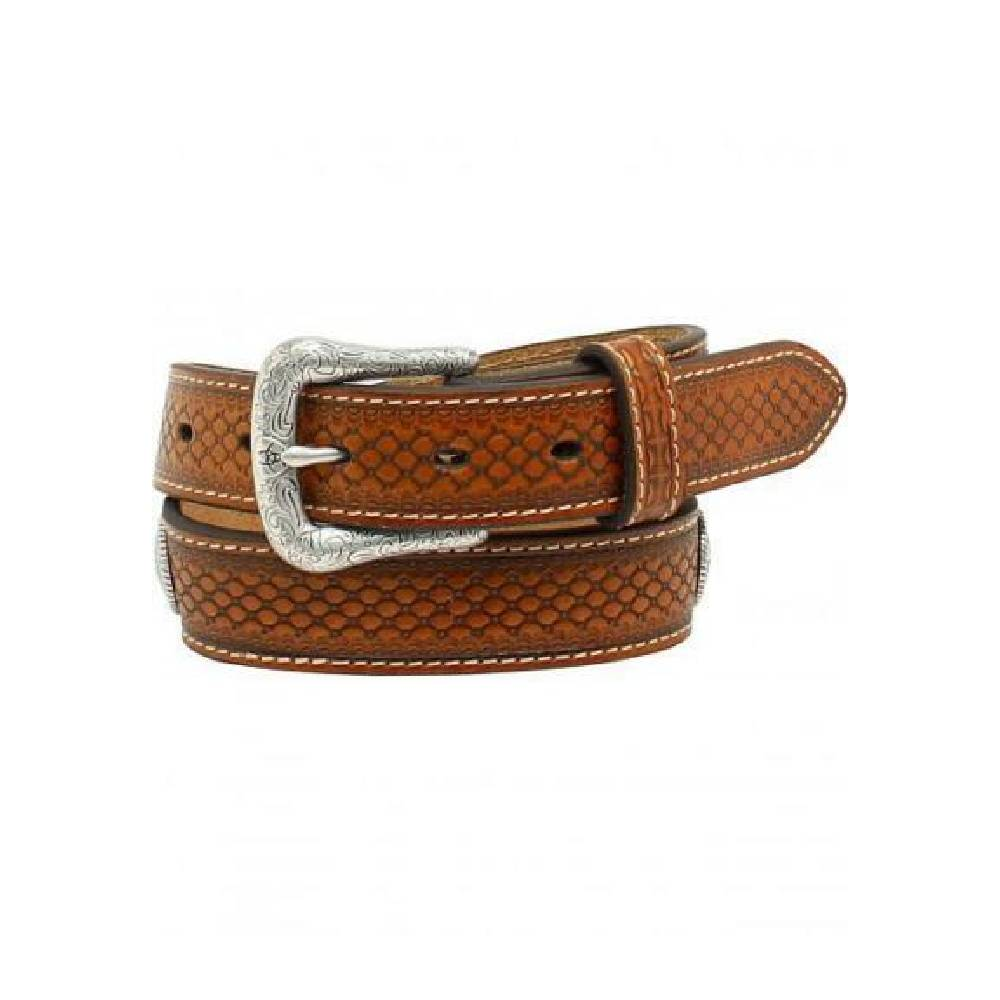 Nocona Ribbon Inlay Belt KIDS - Accessories - Belts M&F WESTERN PRODUCTS Teskeys