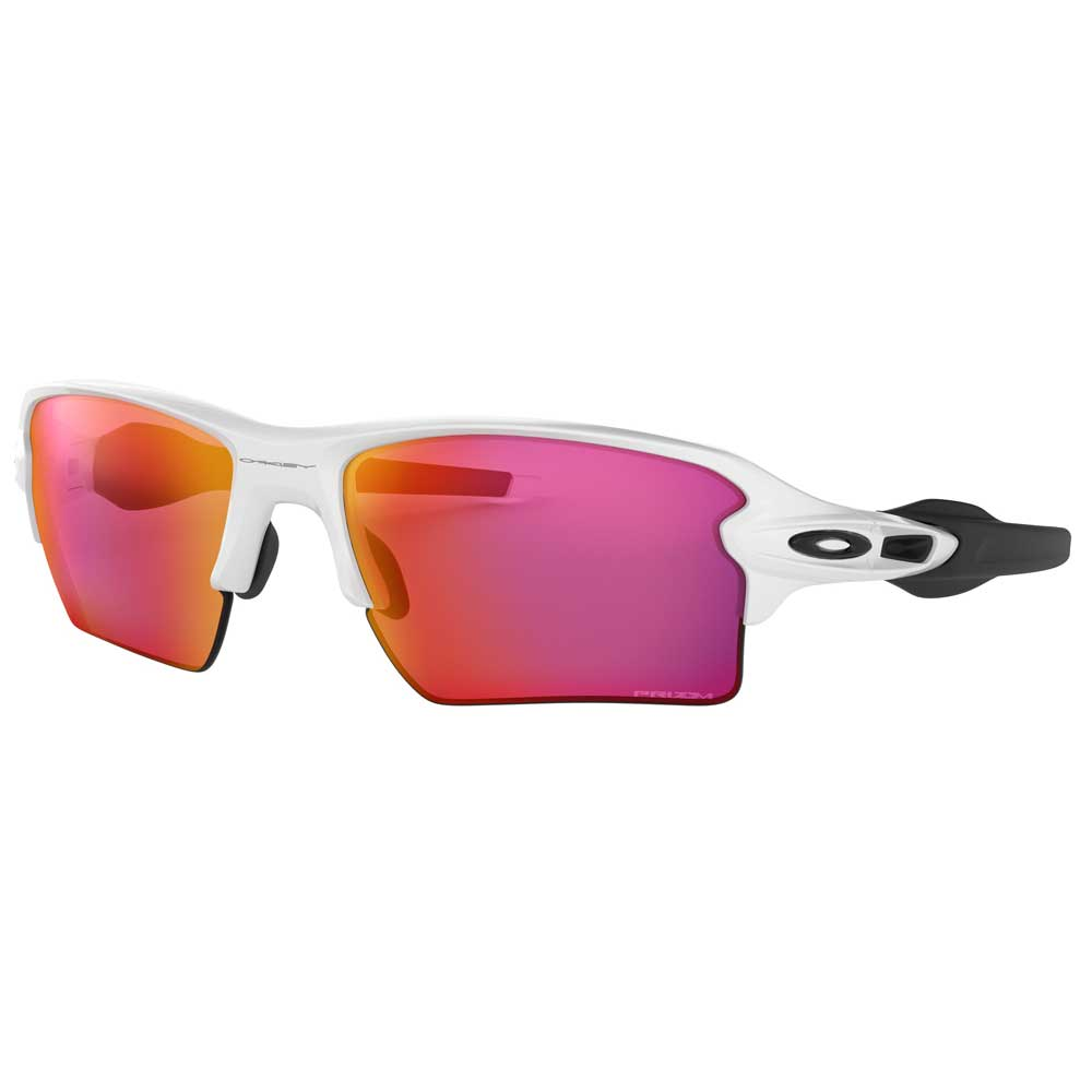 Oakley Flak 2.0 XL Polished White w/Prizm Field Injected Sunglasses ACCESSORIES - Additional Accessories - Sunglasses OAKLEY SALES CORP Teskeys