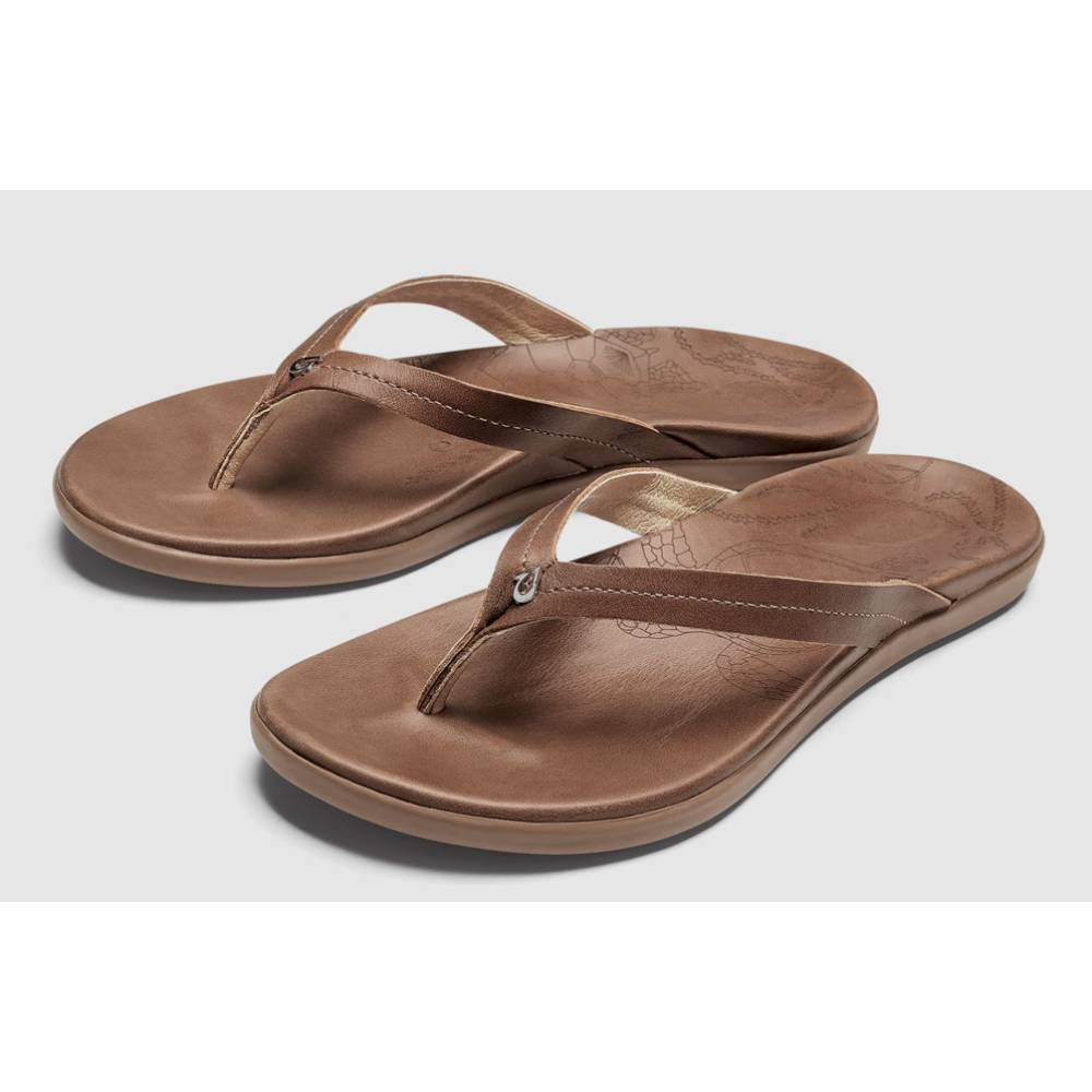 Olukai Honu Sandal - Tan WOMEN - Footwear - Sandals OLUKAI Teskeys