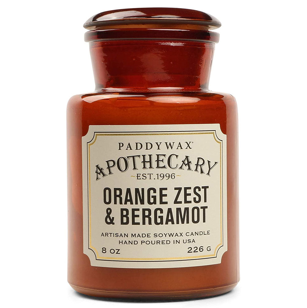 Paddywax 8oz Apothecary Candle - Orange Zest & Bergamot HOME & GIFTS - Home Decor - Candles + Diffusers Paddywax Teskeys