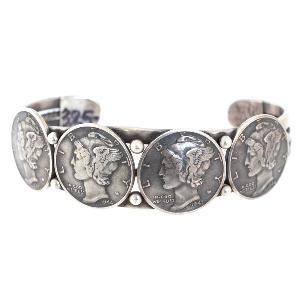Buffalo Dime Bracelet WOMEN - Accessories - Jewelry - Bracelets PEYOTE BIRD DESIGNS Teskeys