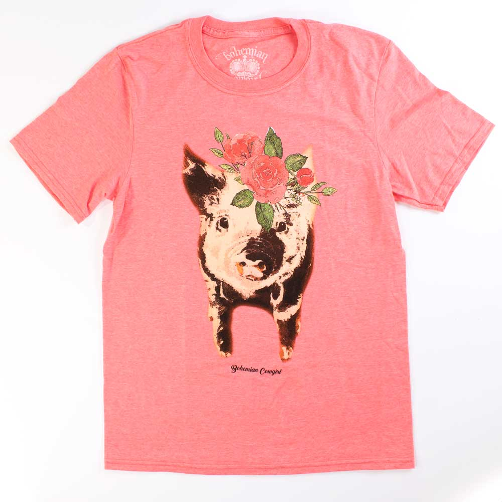 Penelope Pig Tee WOMEN - Clothing - Tops - Short Sleeved BOHEMIAN COWGIRL Teskeys
