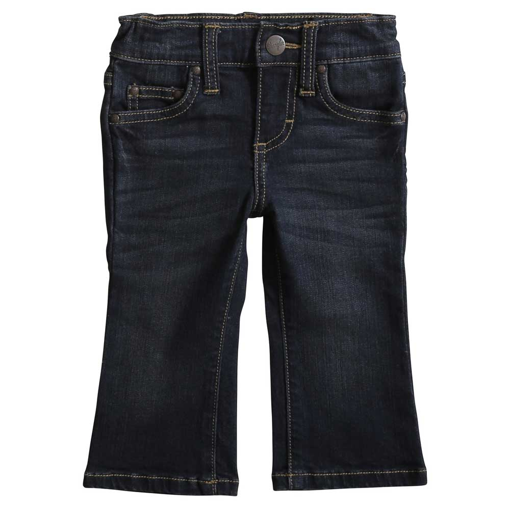 Wrangler Baby Boy Dark Wash 5 Pocket Jeans KIDS - Baby - Baby Boy Clothing WRANGLER Teskeys