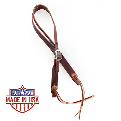 Patrick Smith Split Ear Headstall Tack - Headstalls - One Ear Patrick Smith Teskeys