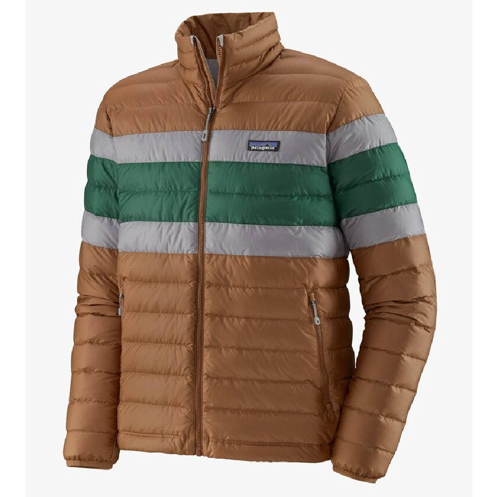 Patagonia Down Sweater Jacket - Beech Brown MEN - Clothing - Outerwear - Jackets Patagonia Teskeys