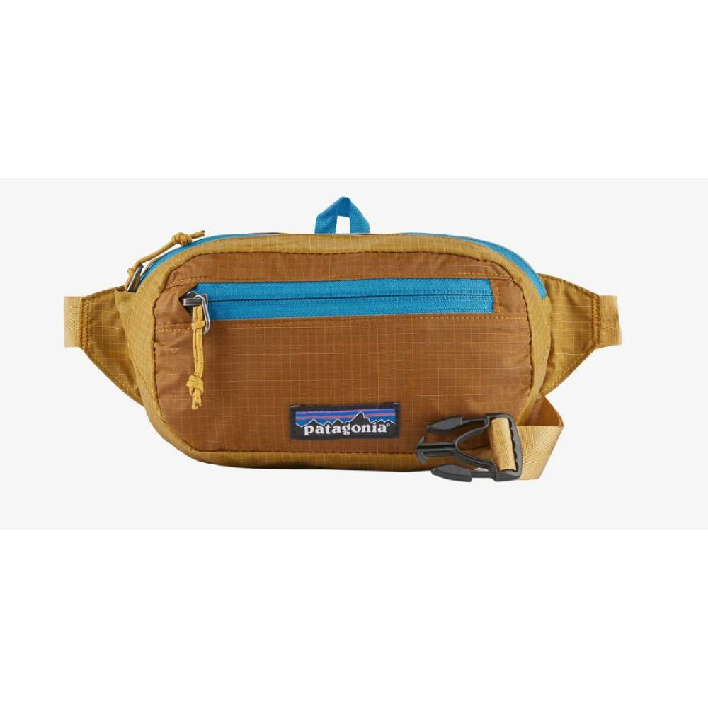 Patagonia Ultralight Black Hole® Mini Hip Pack 1L - Hawk Gold ACCESSORIES - Luggage & Travel - Backpacks & Belt Bags Patagonia Teskeys