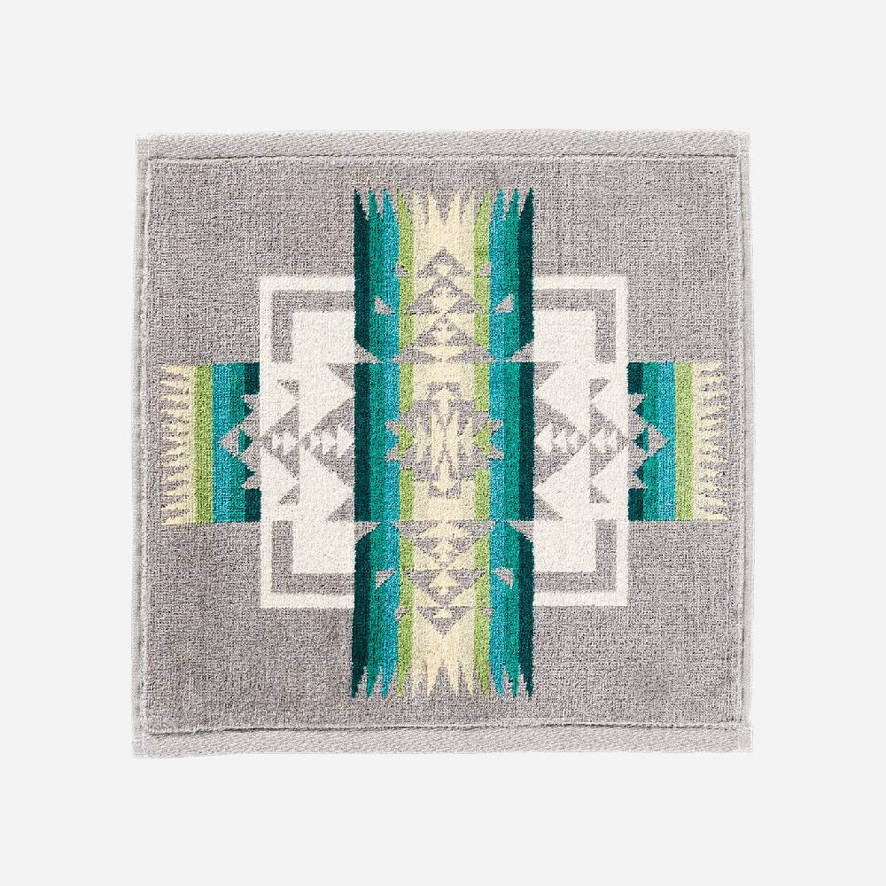 Pendleton Chief Joseph Grey Wash Cloth HOME & GIFTS - Bath & Body - Towels PENDLETON Teskeys