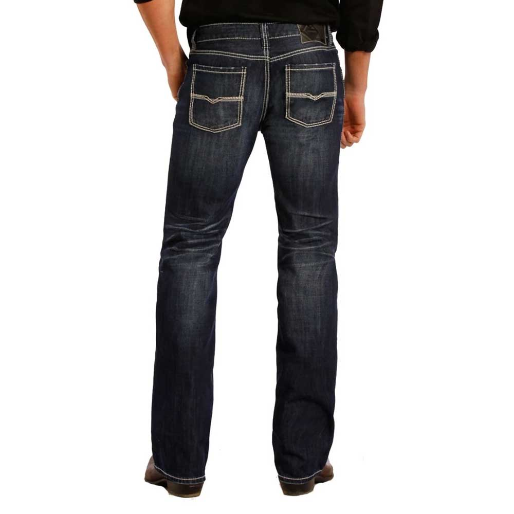 Rock & Roll Pistol Straight Leg Jean