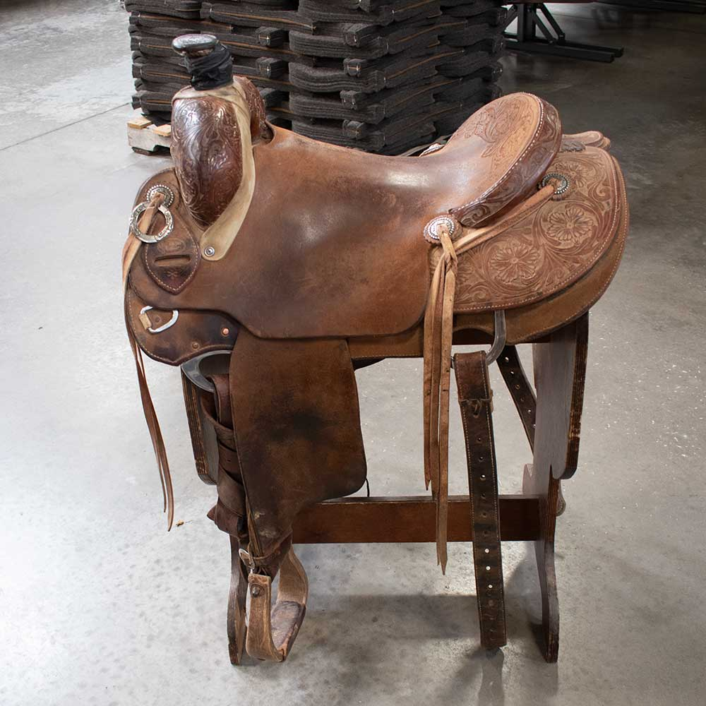 "16"" USED CACTUS RANCH SADDLE"