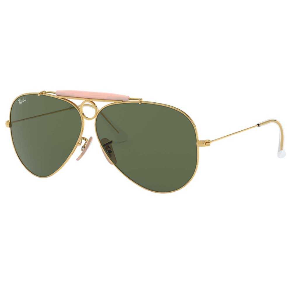 Ray-Ban Aviator Shooter Sunglasses ACCESSORIES - Additional Accessories - Sunglasses RAYBAN Teskeys