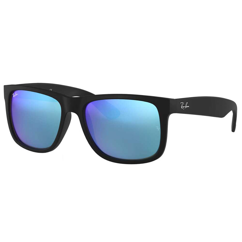 RayBan Justin Wayfarer Color Mix Low Bridge Fit Sunglasses ACCESSORIES - Additional Accessories - Sunglasses RAYBAN Teskeys