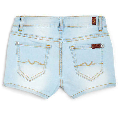 "Girls 2"" Short Short in Cloud Blue KIDS - Girls - Clothing - Shorts 7FAM KIDS Teskeys"