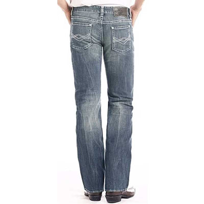 Rock & Roll Double Barrel Straight Leg Reflex Jean