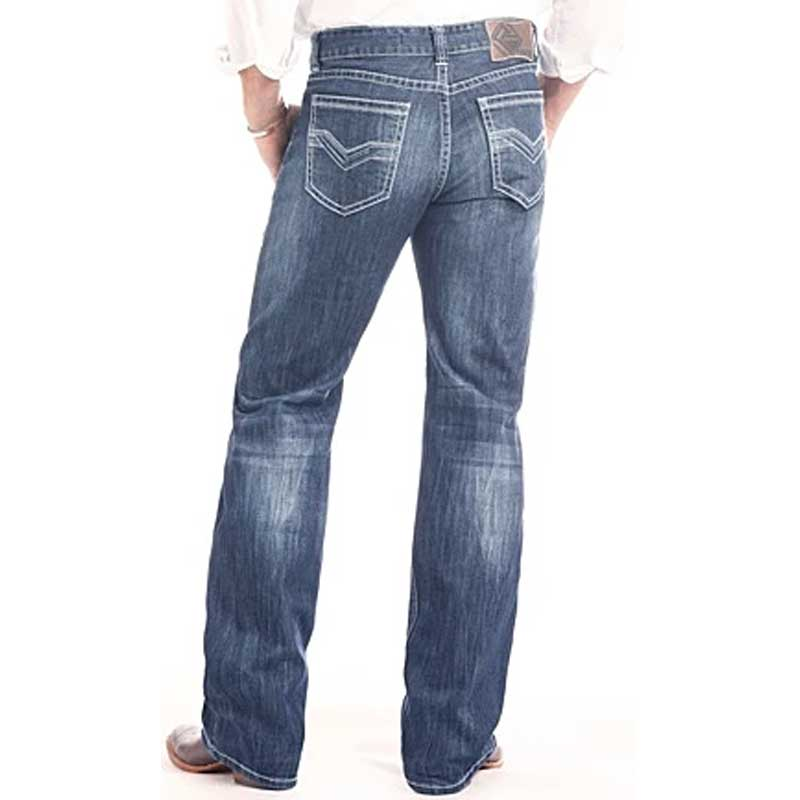 Rock & Roll Double Barrel Relaxed Fit Straight Leg Reflex Jean
