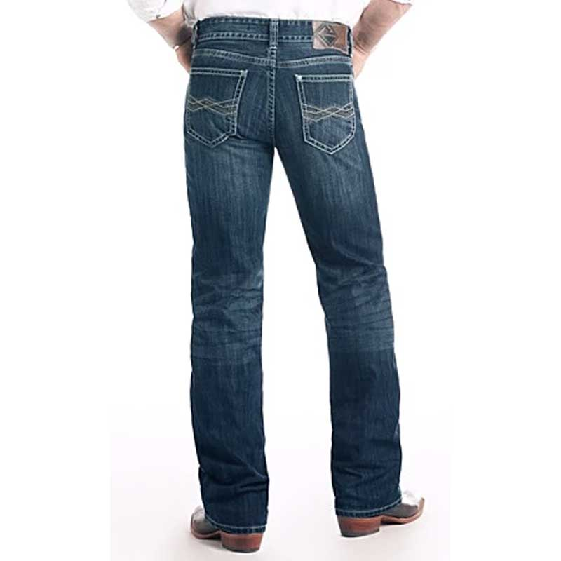 Rock & Roll Double Barrel Straight Leg Jeans - Dark Wash MEN - Clothing - Jeans PANHANDLE SLIM Teskeys