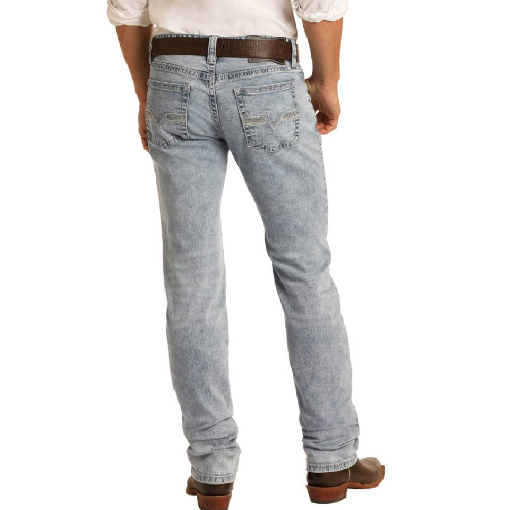 Rock & Roll Denim Reflex Revolver Jean - Light Wash MEN - Clothing - Jeans Panhandle Teskeys
