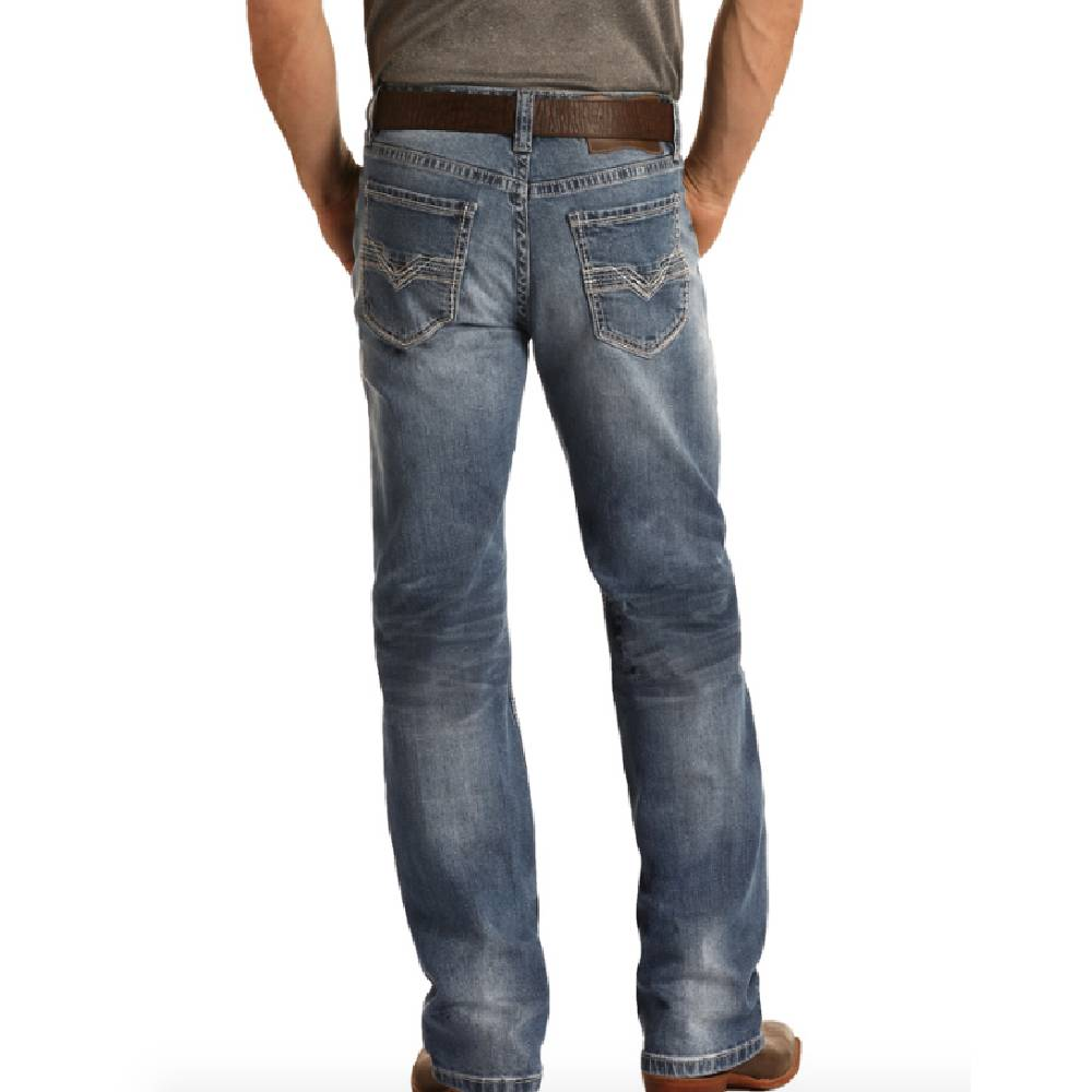 Rock & Roll Denim Men's Double Barrel Reflex Jean MEN - Clothing - Jeans Panhandle Teskeys