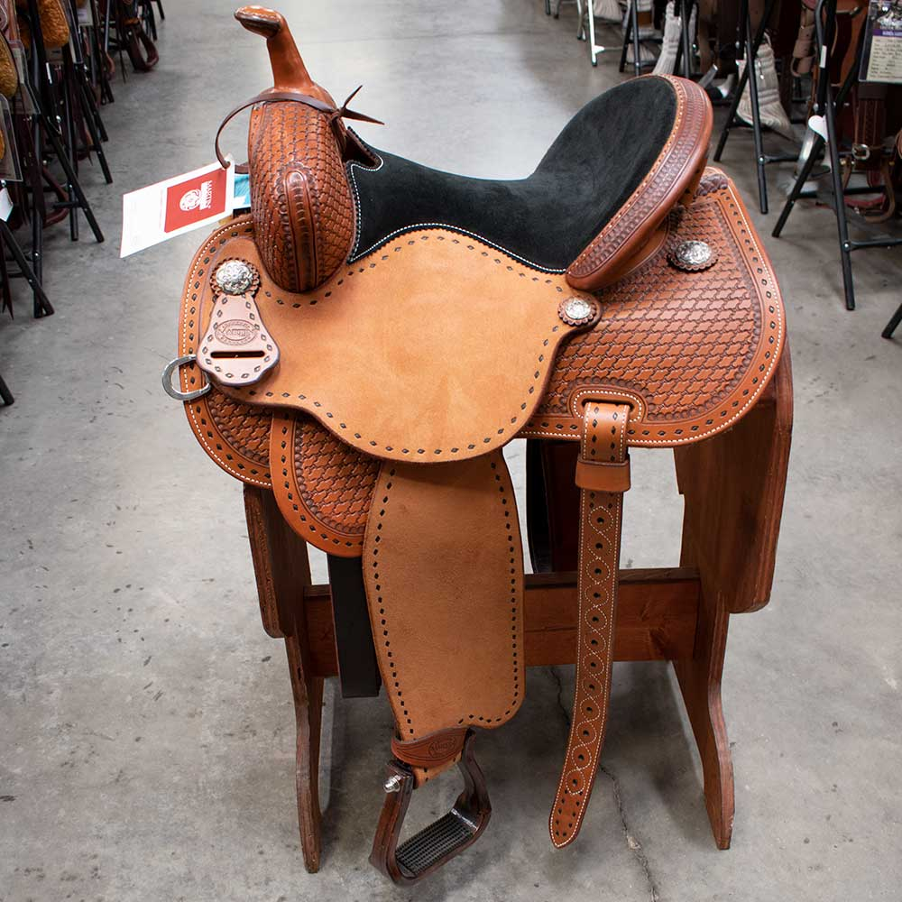 "14"" LISA LOCKHART MARTIN BARREL SADDLE"