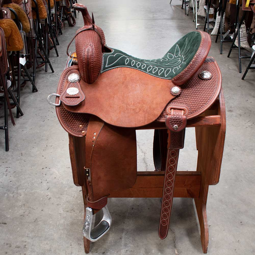 "14.5"" MARTIN BARREL SADDLE"