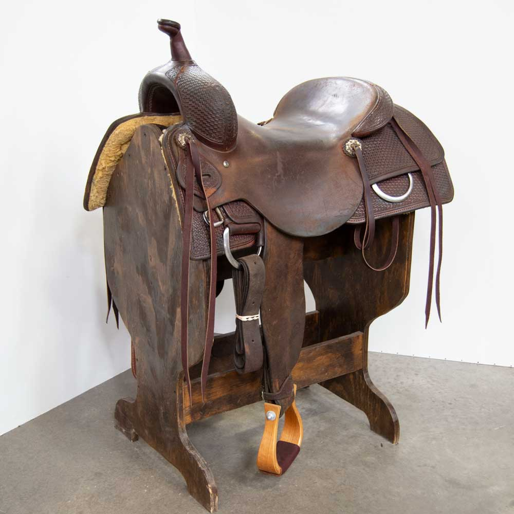 "17"" USED TESKEY'S PRO CUTTING SADDLE"