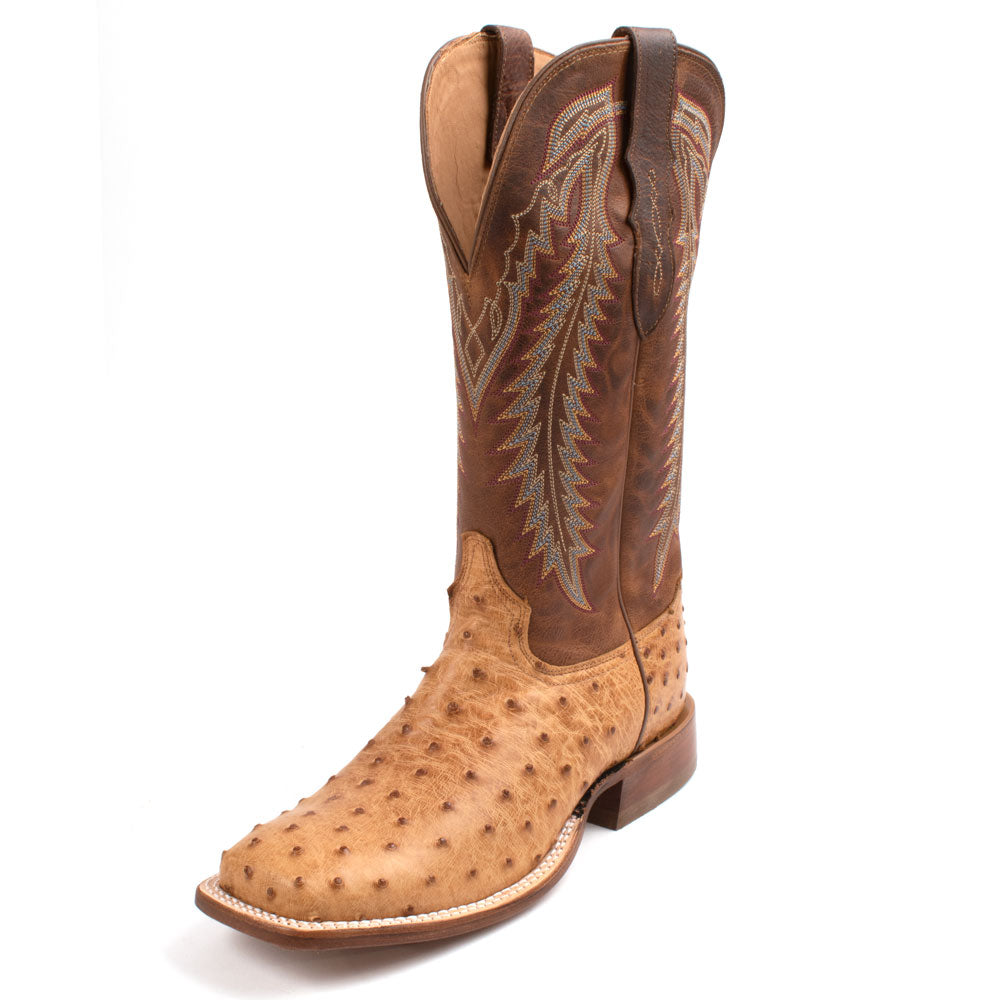 Tony Lama Full Quill Ostrich Boot MEN - Footwear - Western Boots TONY LAMA BOOTS Teskeys