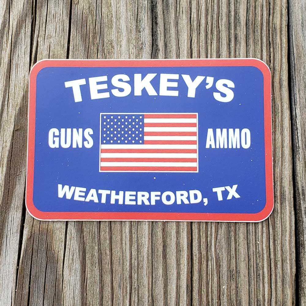 Teskey's G&A Flag Vinyl Sticker TESKEY'S GEAR - Stickers Sticker Mule Teskeys