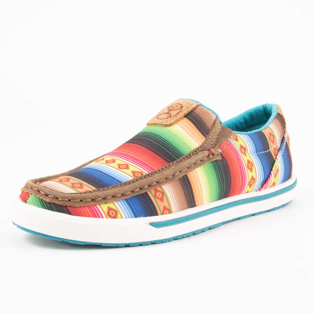 Twisted X Women's Hooey Sunset Serape Slip On WOMEN - Footwear - Casuals TWISTED X Teskeys