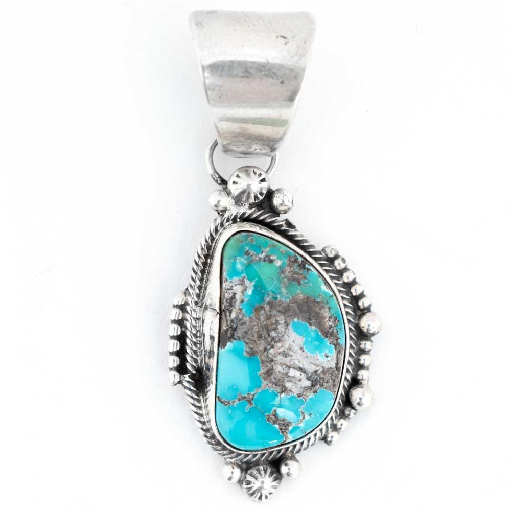 Navajo Turquoise Pendant WOMEN - Accessories - Jewelry - Pendants SUNWEST SILVER Teskeys