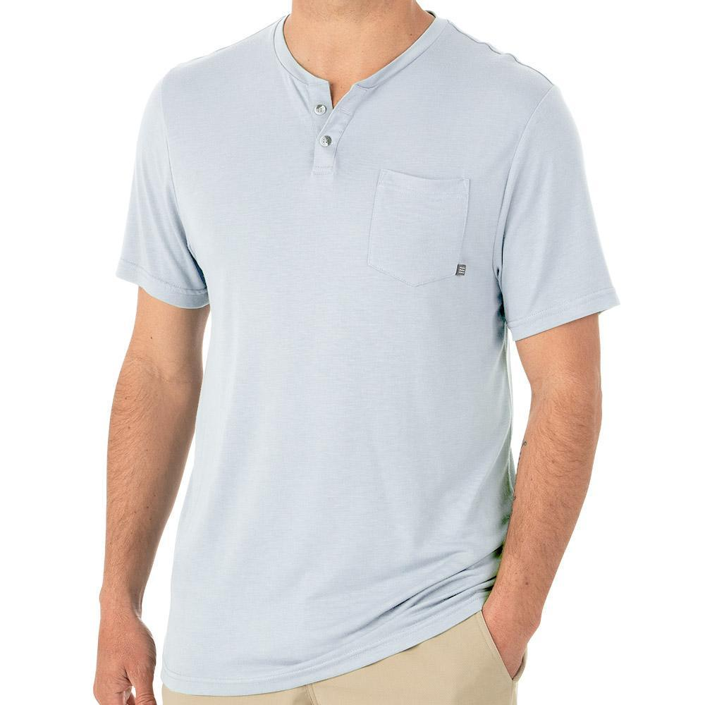 Free Fly Slacktide Bamboo Short Sleeve Henley MEN - Clothing - T-Shirts & Tanks FREE FLY APPAREL Teskeys