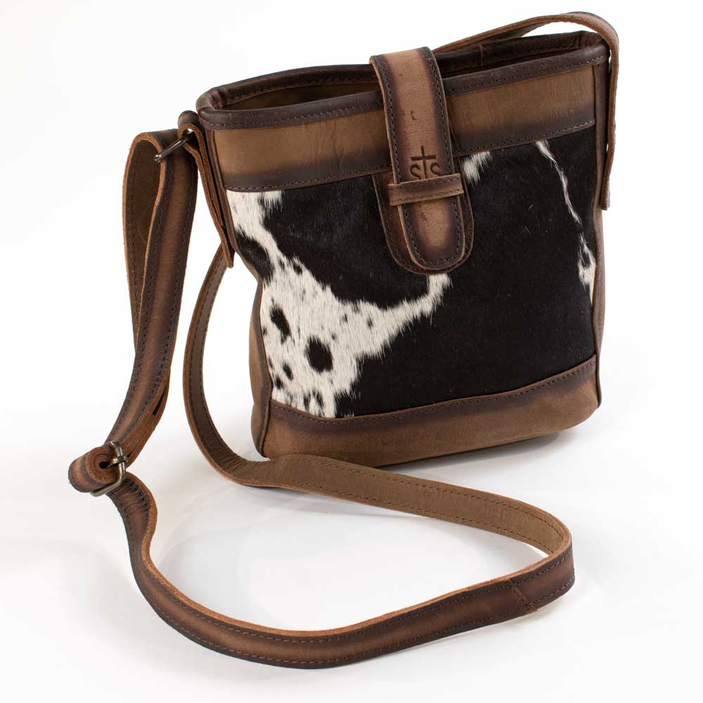 STS Ranchwear Cowhide Derby Bucket Bag WOMEN - Accessories - Handbags - Shoulder Bags STS Ranchwear Teskeys