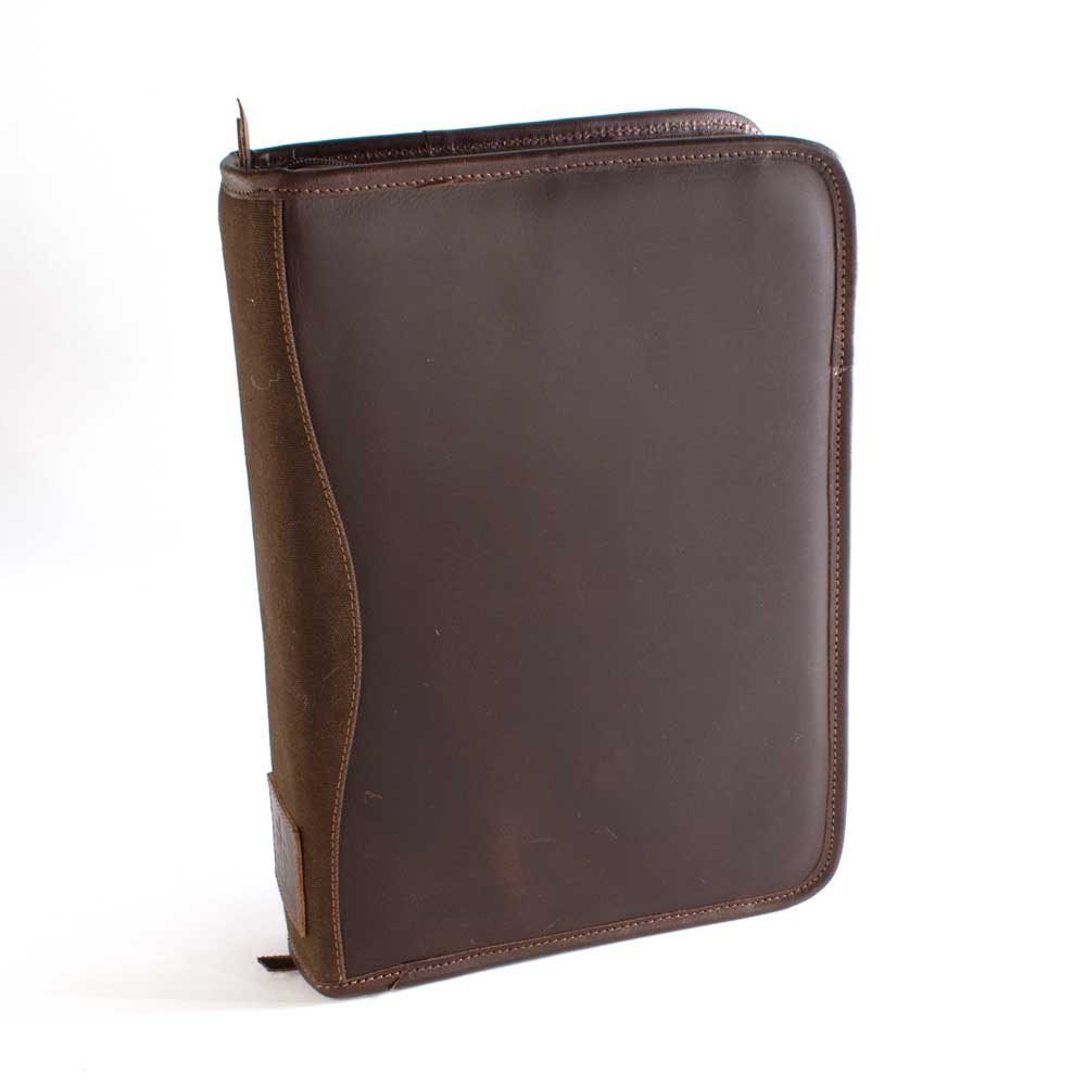 STS Ranchwear Chocolate Canvas Binder MEN - Accessories - Wallets & Money Clips STS Ranchwear Teskeys