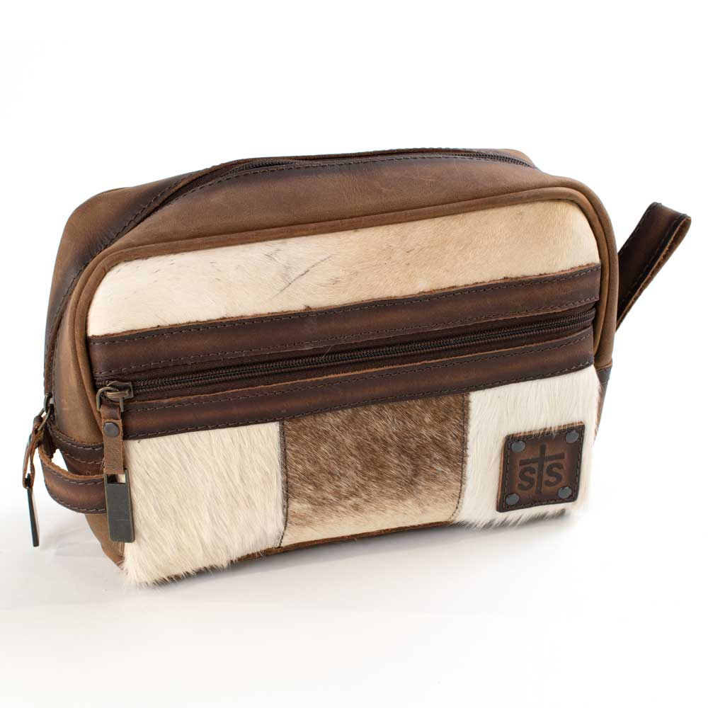 STS Ranchwear Cowhide Shave Kit ACCESSORIES - Luggage & Travel - Shave Kits STS Ranchwear Teskeys