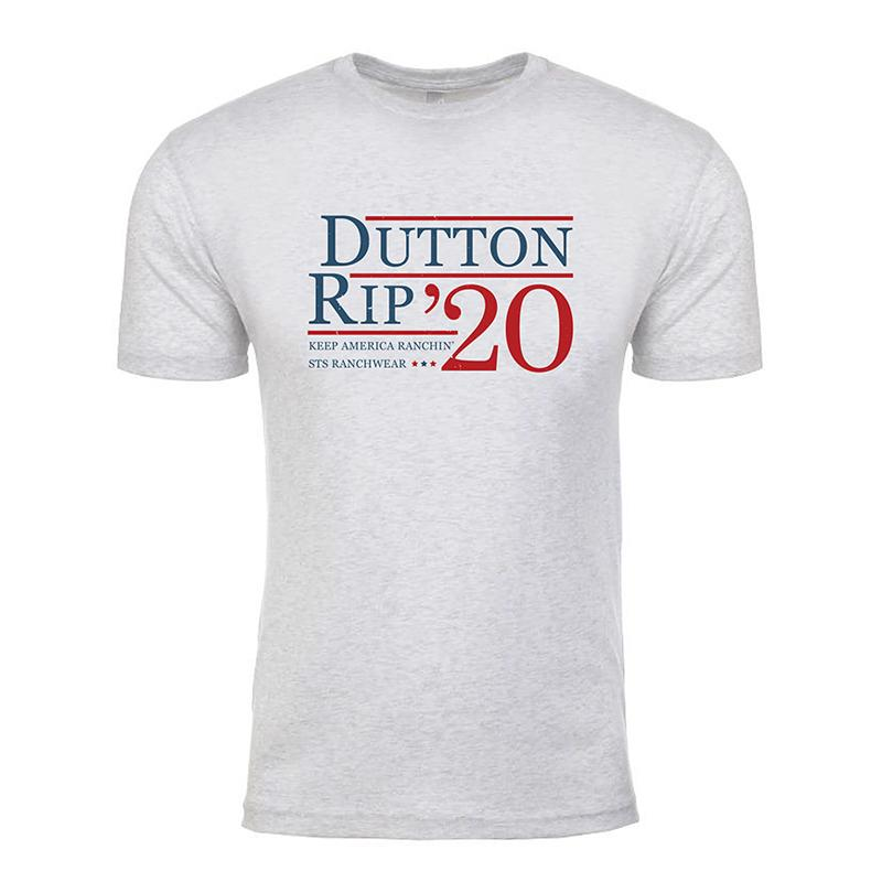 STS Ranchwear Dutton Rip Tee Heather White MEN - Clothing - T-Shirts & Tanks STS Ranchwear Teskeys