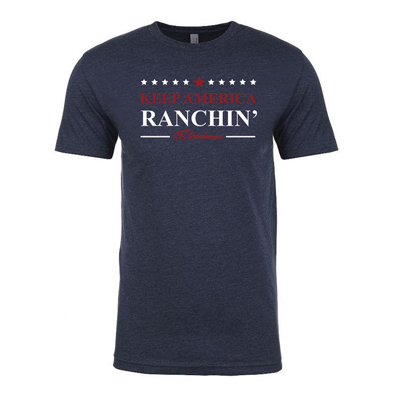 STS Ranchwear Keep America Ranchin' Tee MEN - Clothing - T-Shirts & Tanks STS Ranchwear Teskeys