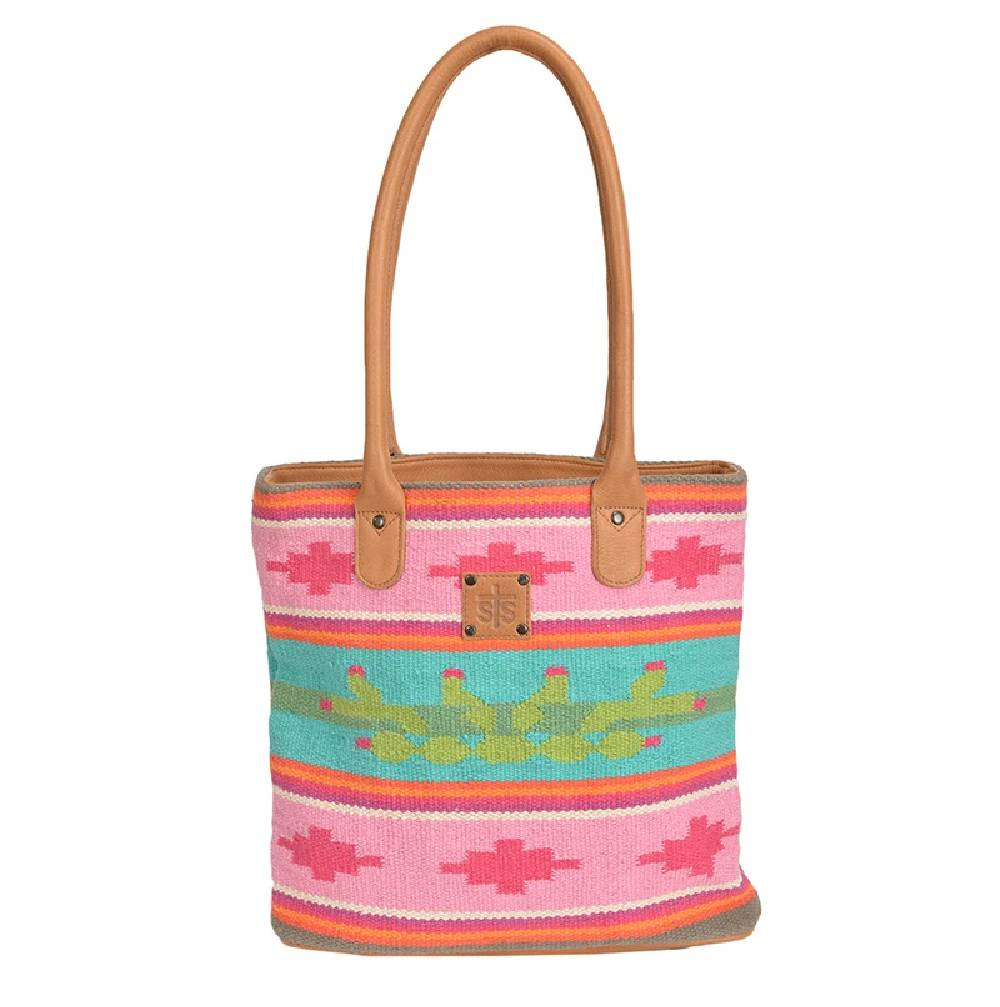 STS Ranchwear Cactus Serape Tote WOMEN - Accessories - Handbags - Tote Bags Teskeys Teskeys