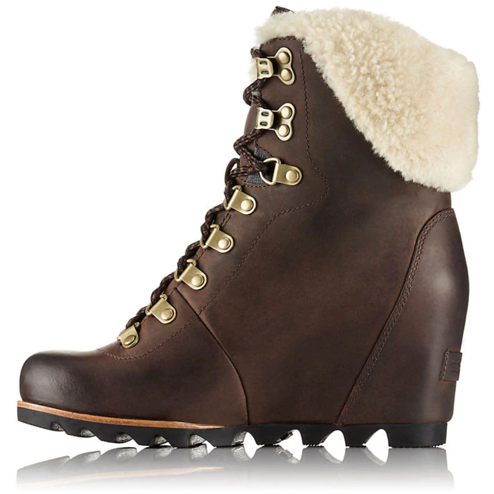 Conquest™ Wedge Shearling Boot WOMEN - Footwear - Boots - Fashion Boots SOREL Teskeys